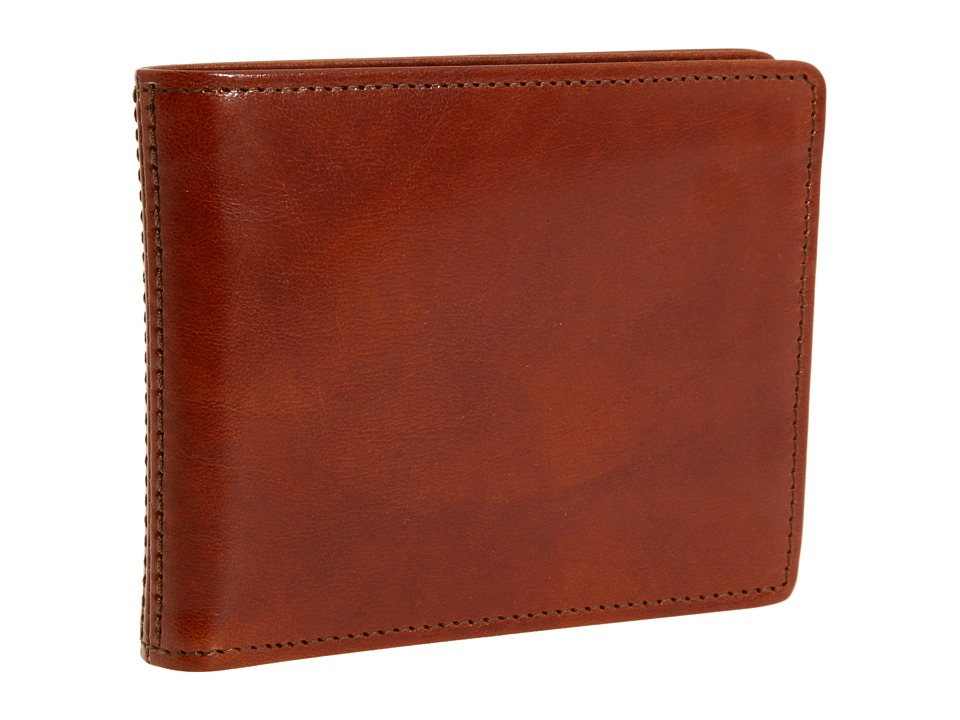 Bosca - Old Leather New Fashioned Collection - Executive ID Wallet (Amber Leather) Bi-fold Wallet