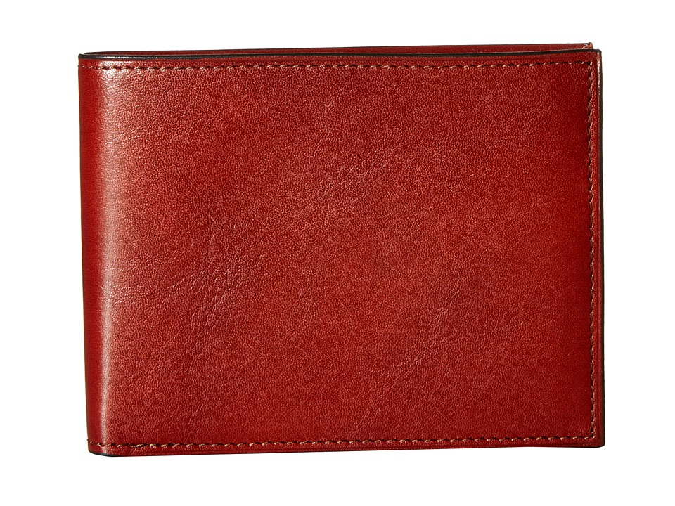 Bosca - Old Leather Collection - Executive ID Wallet (Cognac Leather) Bi-fold Wallet