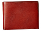 Bosca Old Leather Collection Executive ID Wallet (Cognac Leather)