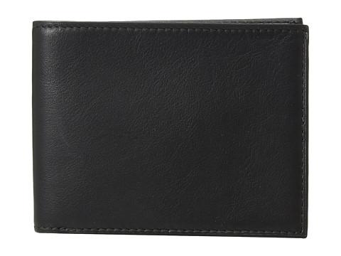 Bosca Nappa Vitello Collection - Executive ID Wallet - Black Leather