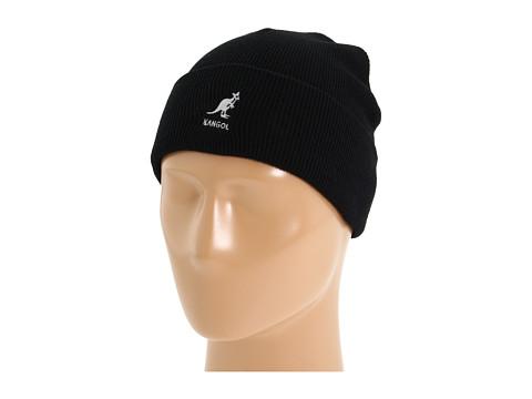 Kangol Acrylic Cuff Pull-On - Black