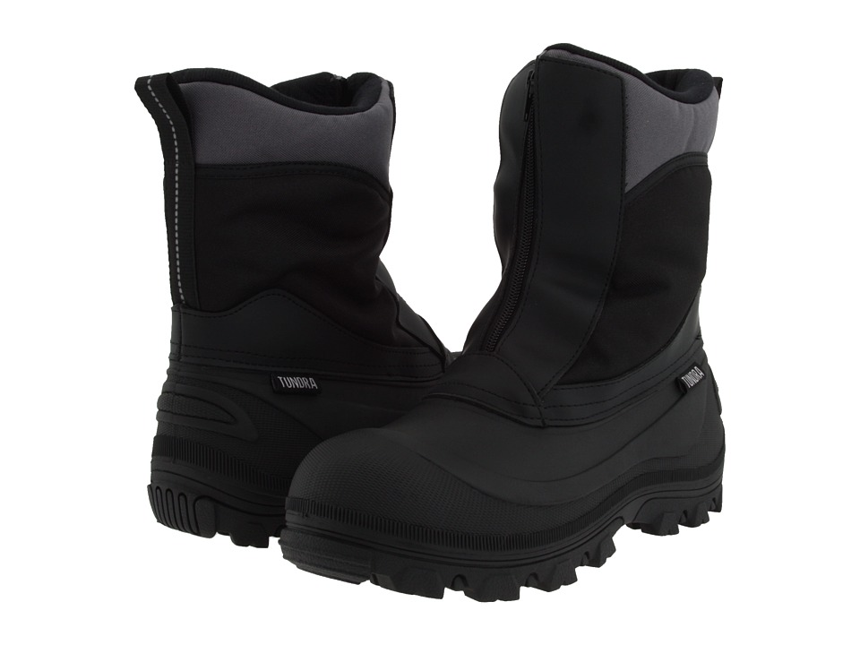 Tundra Boots Vermont Black Mens Cold Weather Boots