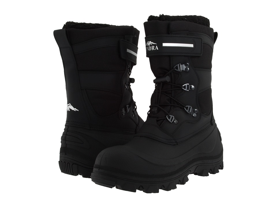 Tundra Boots Toronto Black/Grey Mens Cold Weather Boots