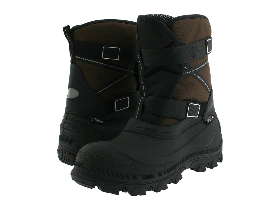 Tundra Boots Bronco Black/Brown Mens Cold Weather Boots