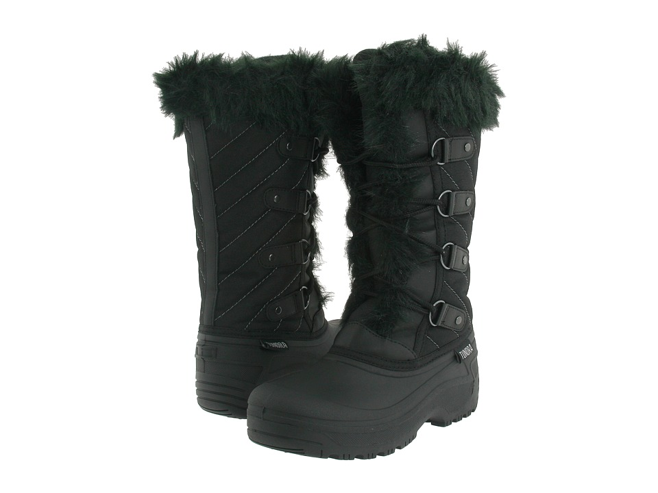 Tundra Boots Diana Black Womens Cold Weather Boots