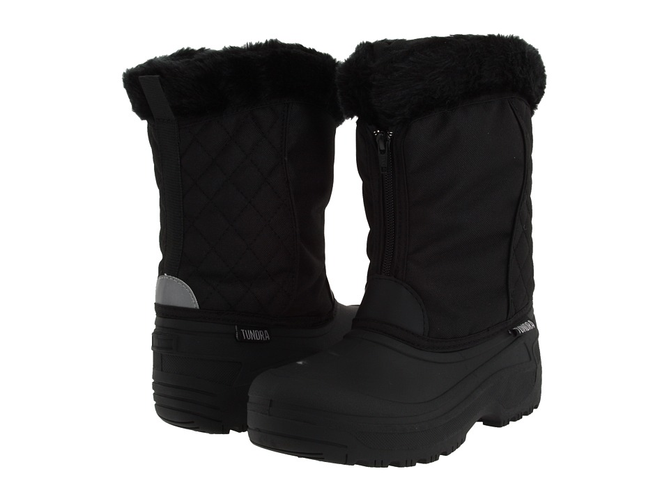 Tundra Boots Portland Black Womens Cold Weather Boots