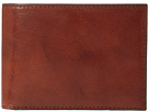 Bosca Old Leather Collection Credit Wallet w/ ID Passcase (Cognac Leather)