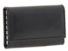 Bosca Old Leather Collection 6 Hook Key Case (Black Leather)