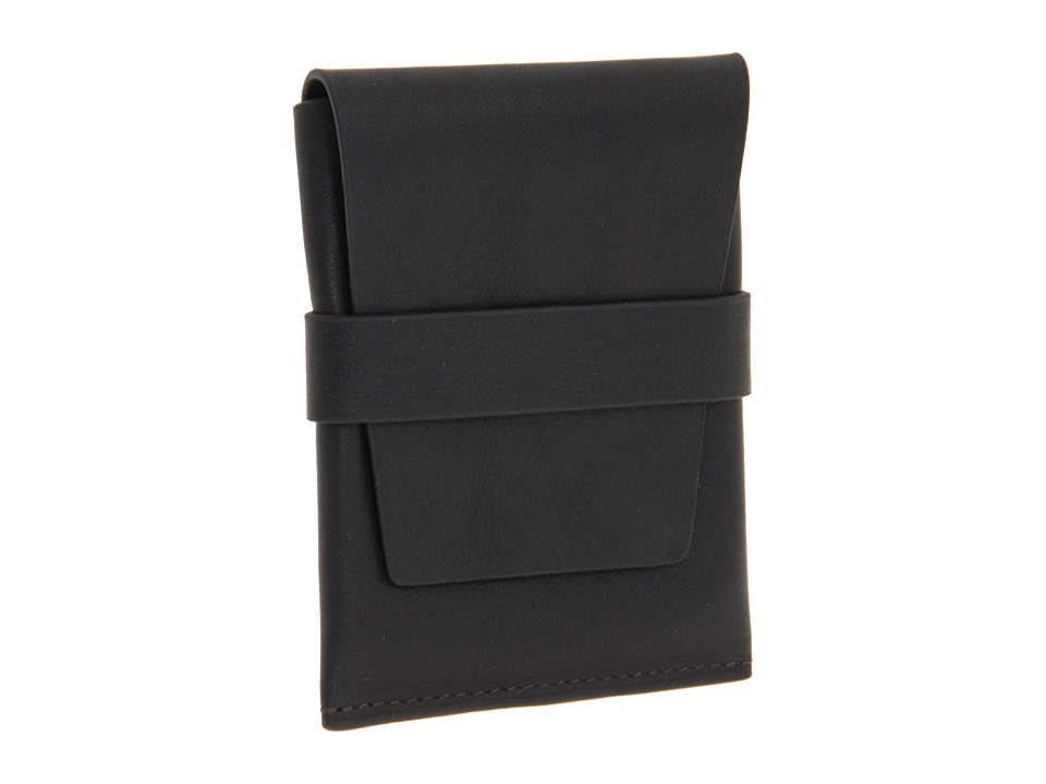 Bosca Nappa Vitello Collection Cardcase Black Leather Wallet