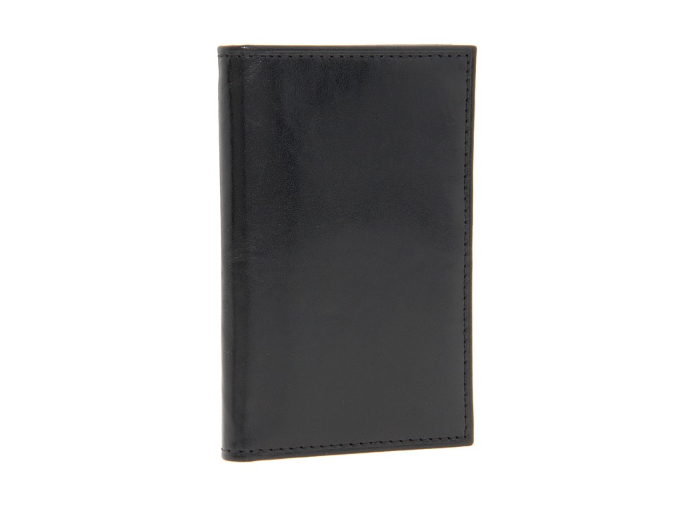 Bosca - Old Leather Collection - 8 Pocket Credit Card Case (Black Leather) Wallet