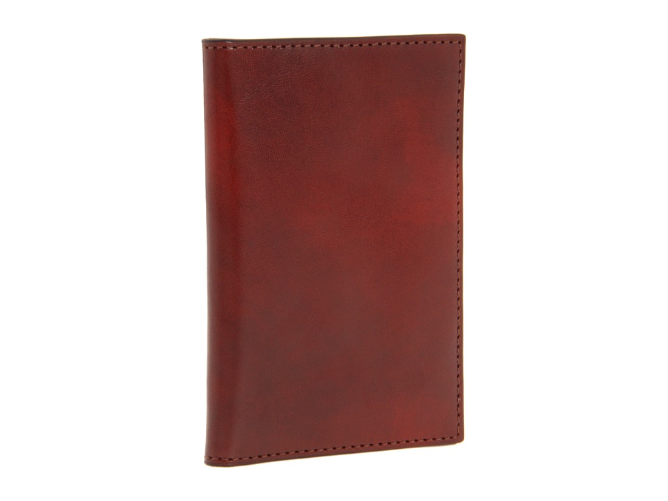 Bosca - Old Leather Collection - 8 Pocket Credit Card Case (Cognac Leather) Wallet