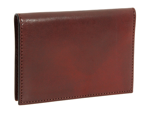 Bosca Old Leather Collection - Calling Card Case - Cognac Leather
