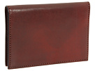 Bosca Old Leather Collection Calling Card Case (Cognac Leather)