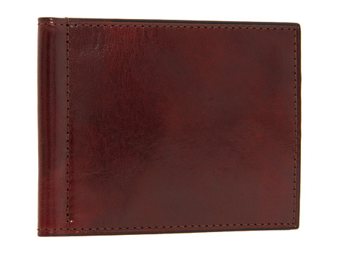 Bosca Old Leather Collection - Small Bifold Wallet w/ Money Clip