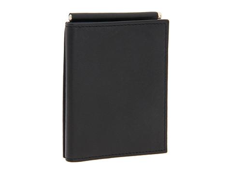 Bosca Nappa Vitello Collection - Trifold Wallet w/ Money Clip