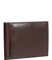 Bosca - Old Leather Collection - Small Bifold Wallet w/ Money Clip