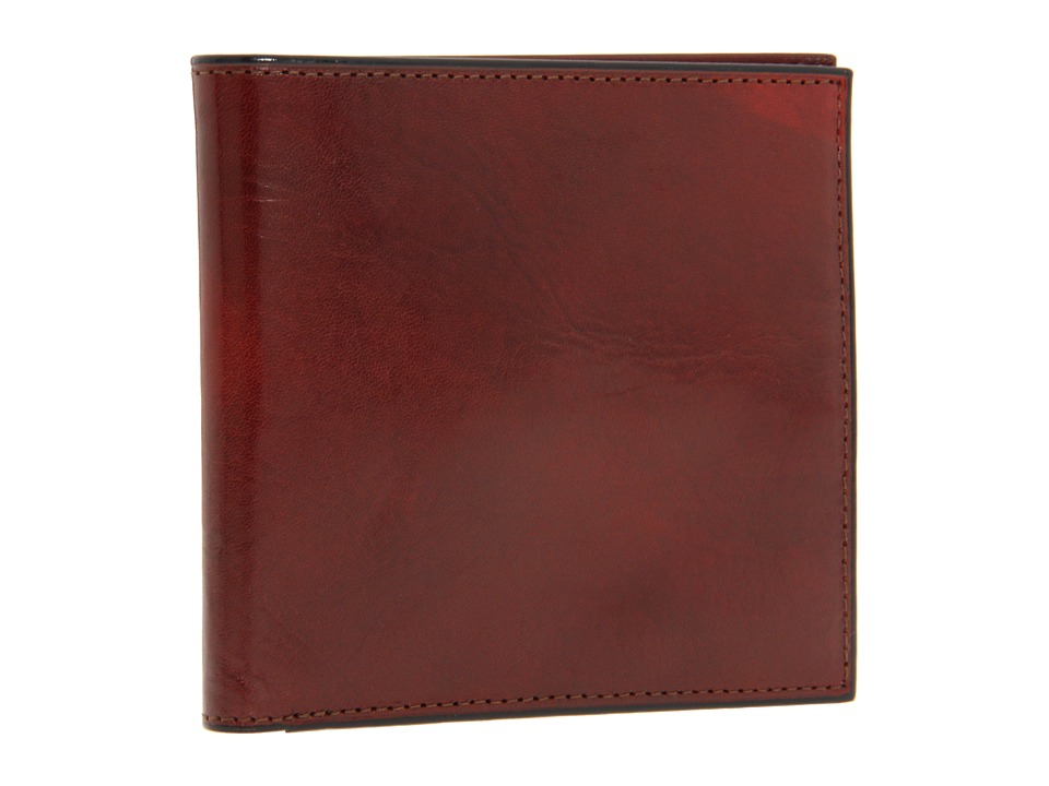 Bosca - Old Leather Collection - ID Hipster Wallet (Cognac Leather) Wallet