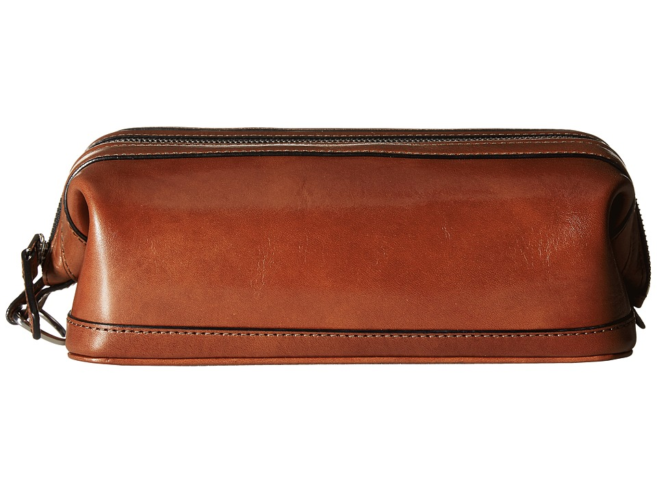 Bosca - Old Leather Collection - 10 Zipper Utilikit (Cognac Leather) Wallet