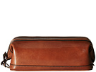 Bosca Old Leather Collection 10 Zipper Utilikit (Cognac Leather)