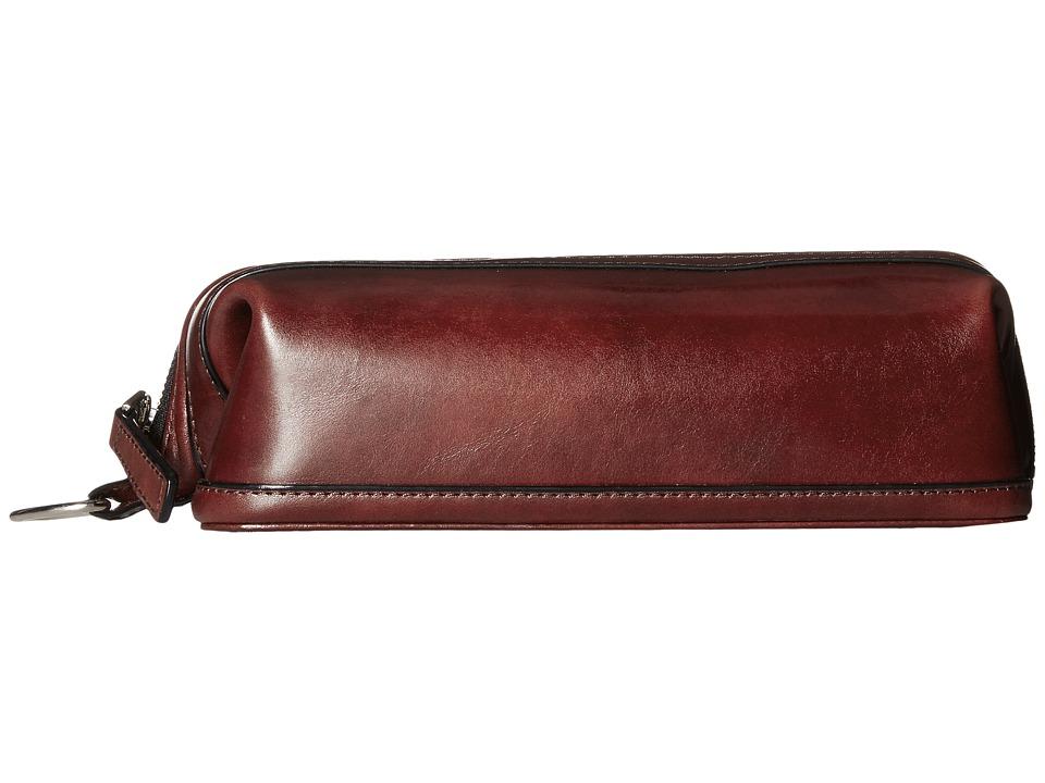 Bosca Old Leather Collection - 10 Zipper Utilikit (Dark B...