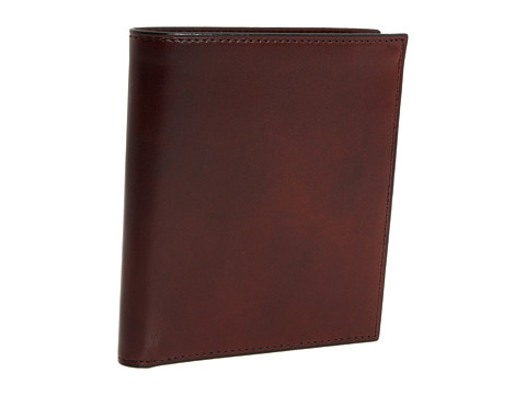 Bosca Old Leather Collection - 12-Pocket Credit Wallet - Dark Brown Leather