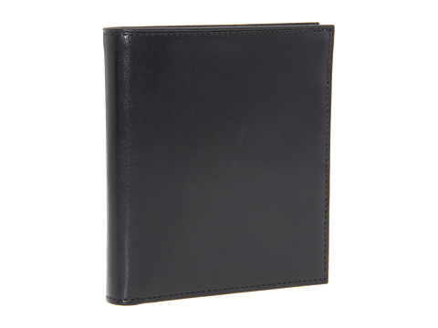 Bosca Old Leather Collection - 12-Pocket Credit Wallet - Black Leather