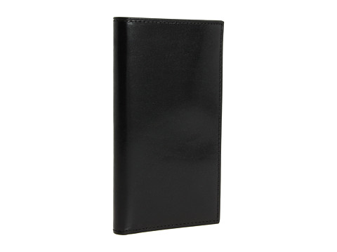 Bosca Old Leather Collection - Coat Pocket Wallet - Black Leather