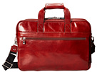 Bosca Old Leather Collection Stringer Bag (Cognac Leather)
