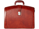 Bosca Old Leather Collection Partners Brief (Cognac Leather)