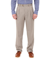 Perry Ellis Portfolio - Double Pleat Standard Fit Micro-Melange Pant