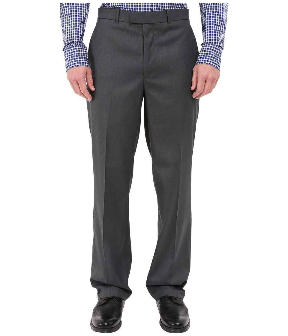 Perry Ellis Portfolio Perry Ellis Portfolio - Classic Fit Flat Front Sharkskin Pant