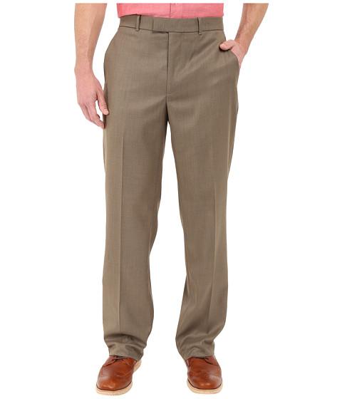 Perry Ellis Portfolio Classic Fit Flat Front Sharkskin Pant