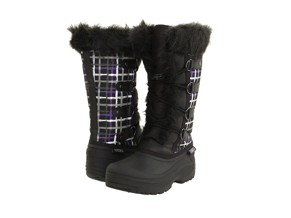 Tundra Boots Diana (Black/Purple) Women's Cold Weather Boots