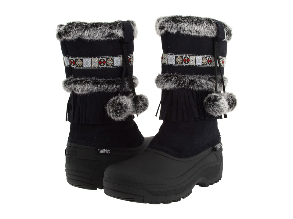 Tundra Boots Nevada (Black) Women's Cold Weather Boots