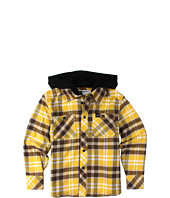 Fox Kids - Bylls L/S Hooded Flannel (Big Kids)