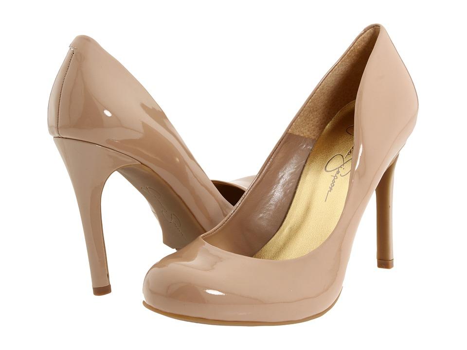 Jessica Simpson - Calie (Nude Patent) High Heels