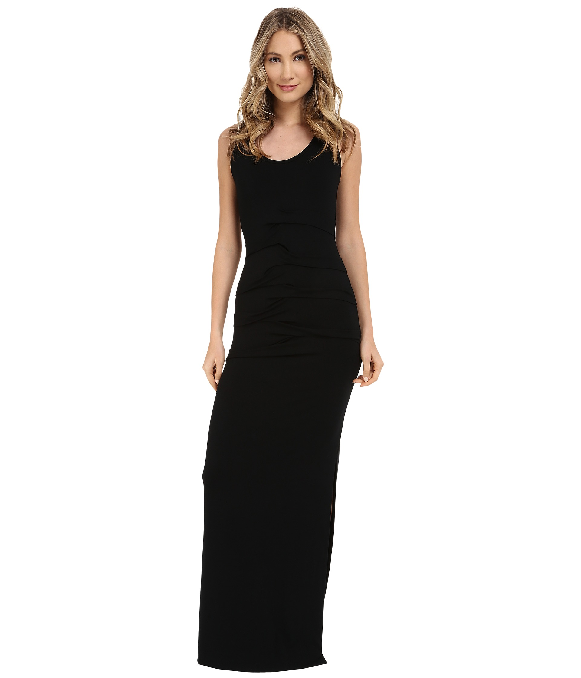 Nicole Miller Simple Maxi Dress Capri, Clothing, Women | Shipped ...
