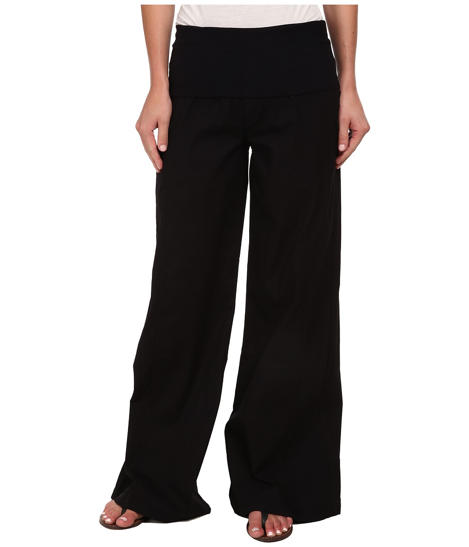 XCVI - Swooping Pant (Black) Womens Casual Pants