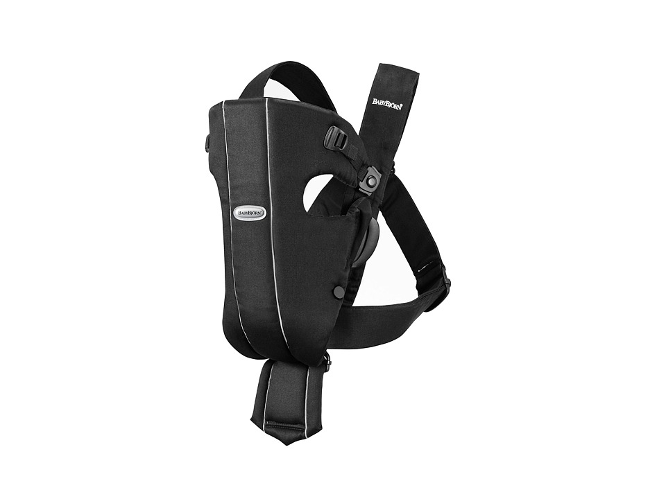 Image of BabyBjorn - Baby Carrier Original (Black/Classic) Carriers Travel