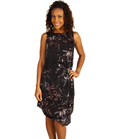 Mac & Jac - Holiday Floral Satin Dress