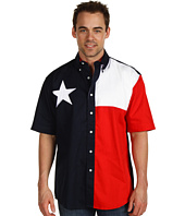Roper - S/S Pieced Texas Flag Shirt