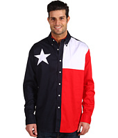 Roper - L/S Pieced Texas Flag Shirt