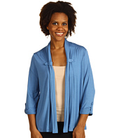 Jones New York - Drape Neck Cardigan With Button