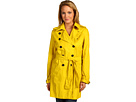 Kenneth Cole New York - Double Breasted Trench (Saffron) - Apparel