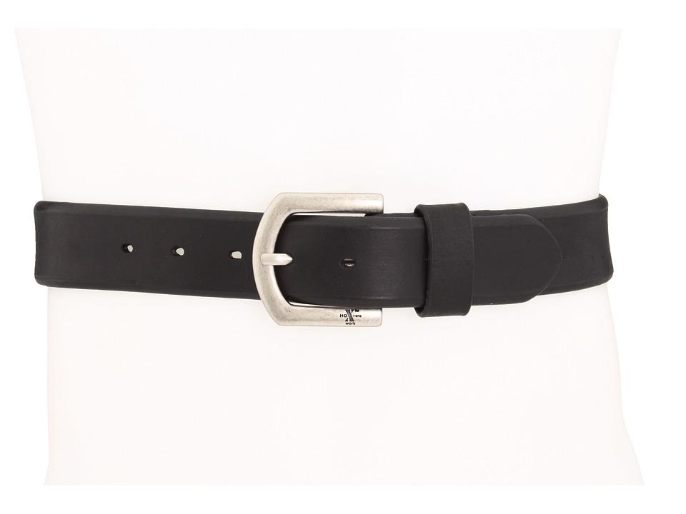 M&F Western - Strap Belt (Black) Mens Belts