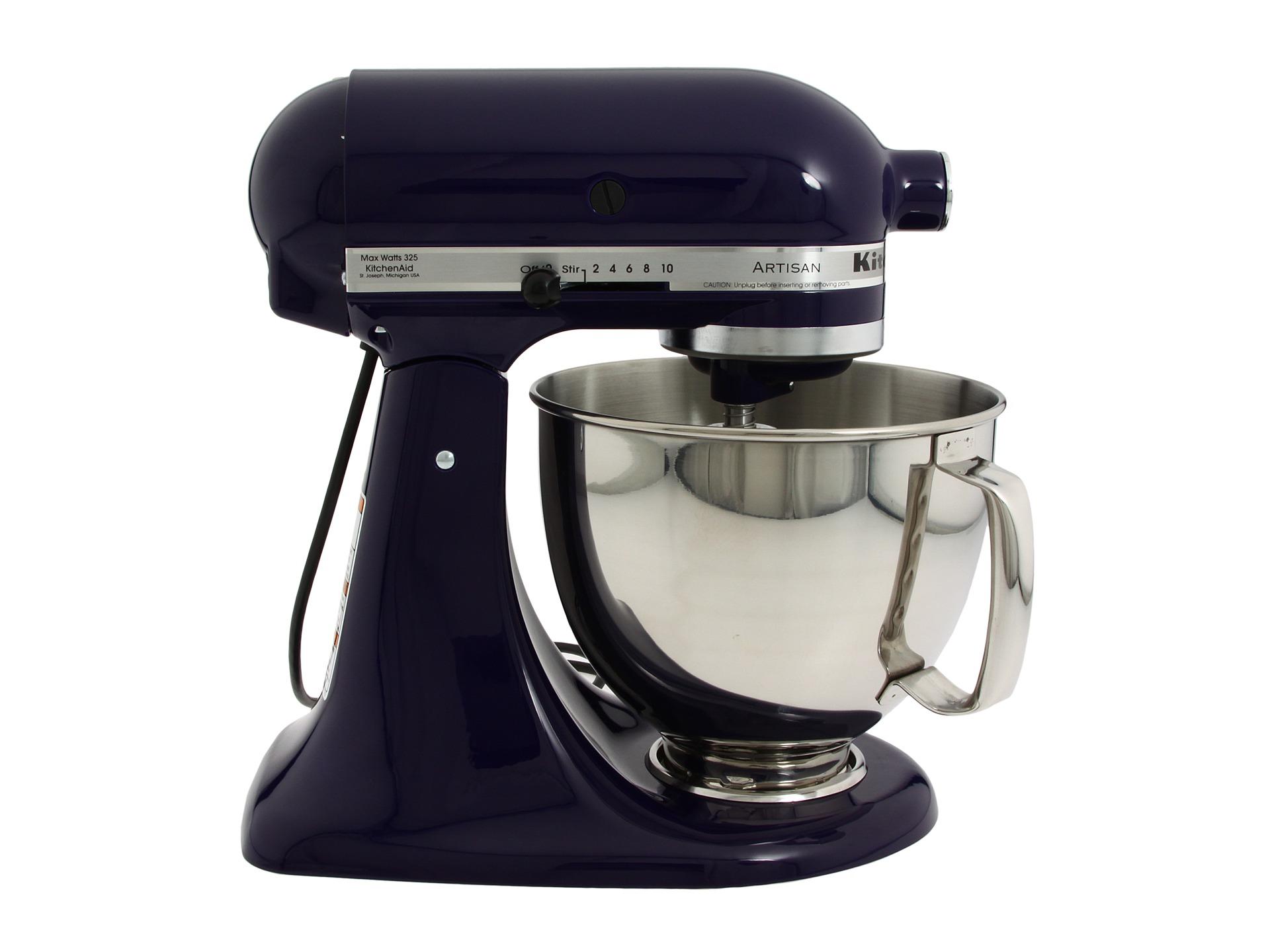 Kitchenaid ksm150p 5 quart artisan stand mixer shipped free at zappos - Kitchenaid artisan qt stand mixer sale ...