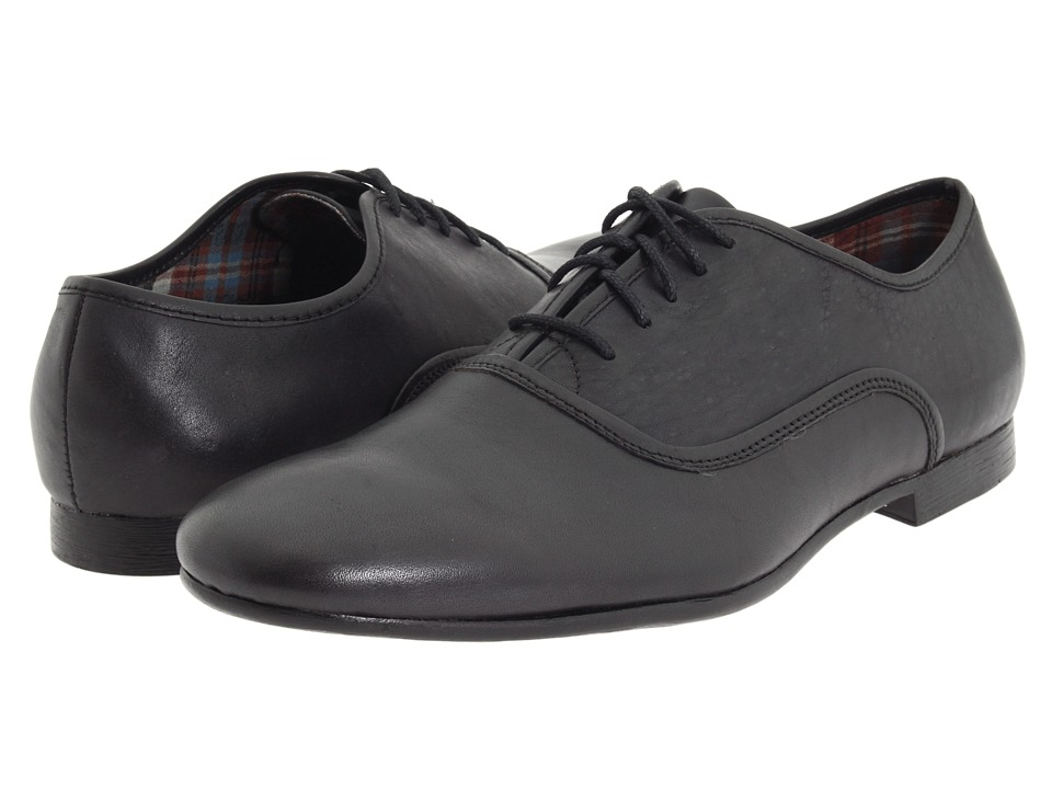 Bed Stu Cosburn Black Cow Mens Lace up casual Shoes