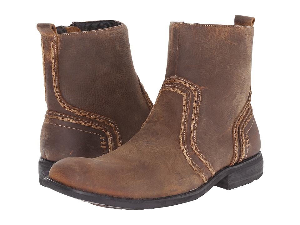 Bed Stu Revolution Tan Mens Boots