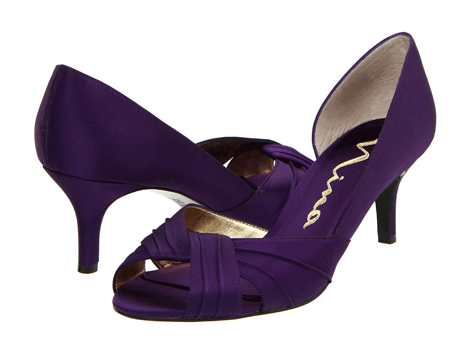 Nina - Culver (Grape Satin) Women