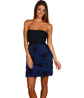 BCBGMAXAZRIA - Strapless Floral Skirt Dress